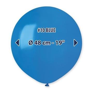 Obrázek Balonek modrý 48 cm