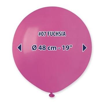 Obrázek Balonek tmavě růžový 48 cm