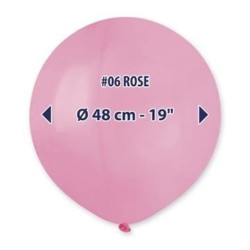 Obrázek Balonek světle růžový 48 cm