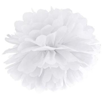 Obrázek Pom pom bílý - 35 cm