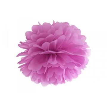Obrázek Pom pom tmavě růžový - 35 cm