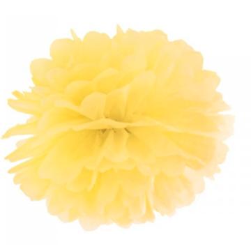 Obrázek Pom pom žlutý 35 cm