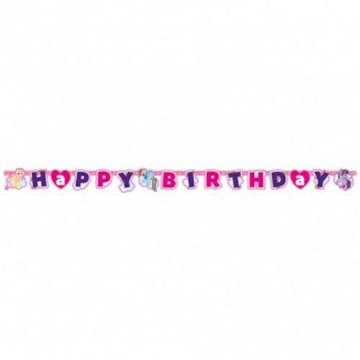 Obrázek Party nápis My little Pony Rainbow Happy Birthday 180 cm