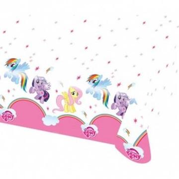 Obrázek Plastový party ubrus My little Pony Rainbow 120 x 180 cm