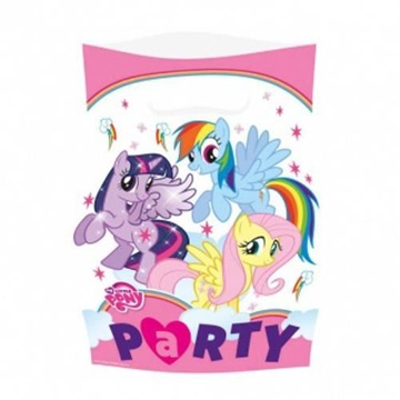 Obrázek Party tašky My Little Pony Rainbow 8 ks