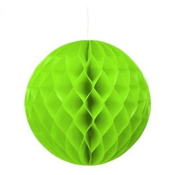 Obrázek Dekorační závěsná koule limetkově zelená 30 cm