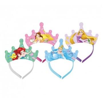 Obrázek Papírová korunka Disney Princess - 4 ks