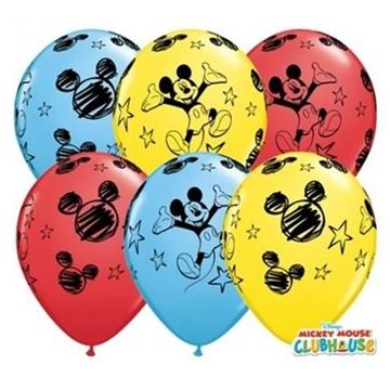 Obrázek Latexový balonek Mickey Mouse 30 cm