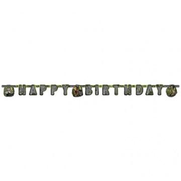 Obrázek Party nápis Dinosauři Happy Birthday 180 cm