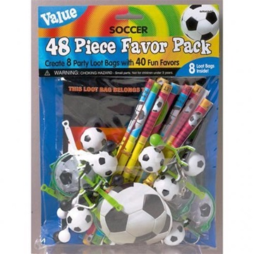 Obrázek Set party hraček pro fotbalistu 48 ks