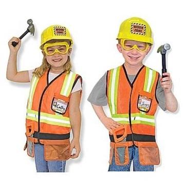 Obrázek Dětský kostým stavitel včetně výbavy - 3 - 6 let