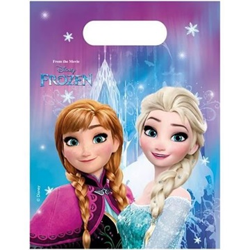 Obrázek Party tašky Frozen Ledové království Severní záře 6 ks