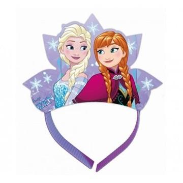 Obrázek Papírová korunka Frozen 4 ks