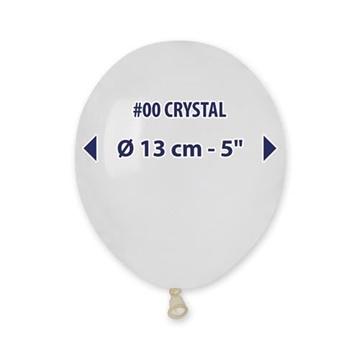 Obrázek Balonky 13 cm - transparentní - 100 ks