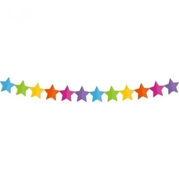 Obrázek Papírová girlanda hvězdičky 360 cm