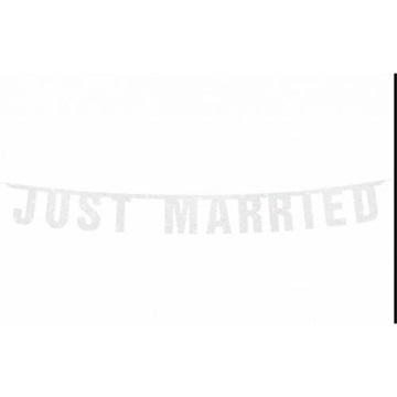 Obrázek Nápis svatební Just Married 170 cm