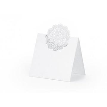 Obrázek Jmenovky ke svatebnímu stolu s kytičkou
