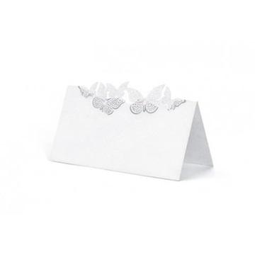 Obrázek Jmenovky ke svatebnímu stolu s motýlky