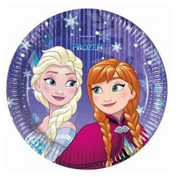 Obrázek Talířky Ledové Království  Frozen Snowflakes 20 cm