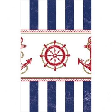 Obrázek Plastový party ubrus námořnická party 137 x 259 cm