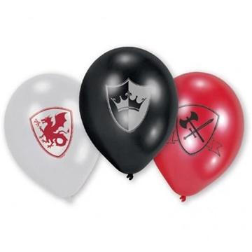 Obrázek Latexové balonky Rytířské - 6 ks