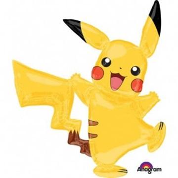 Obrázek Chodící balonek Pokemon Pikachu 144 cm