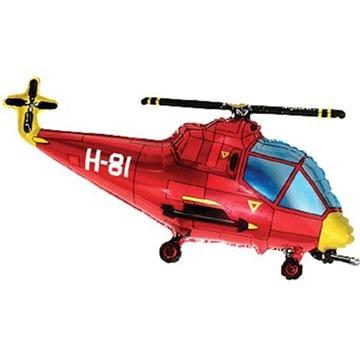Obrázek Foliový balonek helikoptéra 60 cm