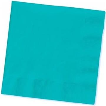 Obrázek Papírové party ubrousky světle modré 20 ks