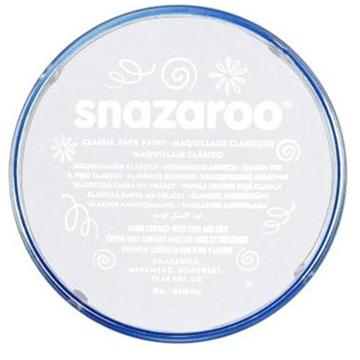Obrázek Barva na obličej Snazaroo - bílá 75 ml