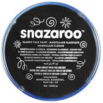 Obrázek Barva na obličej Snazaroo - černá 75 ml