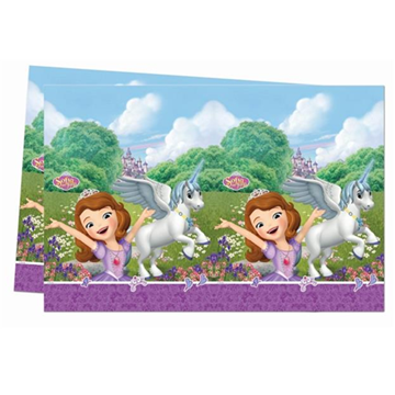 Obrázek Plastový party ubrus Princezna Sofie 120 x 180 cm