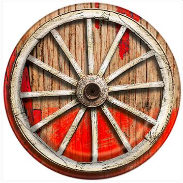 Obrázek Papírové talíře Western 22 cm