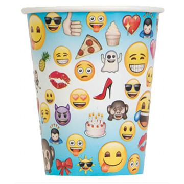 Obrázek Papírové kelímky Emoji