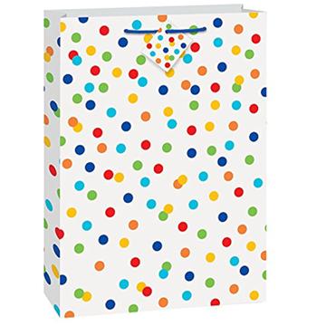 Obrázek Dárková taška s puntíky 46 x 33 cm