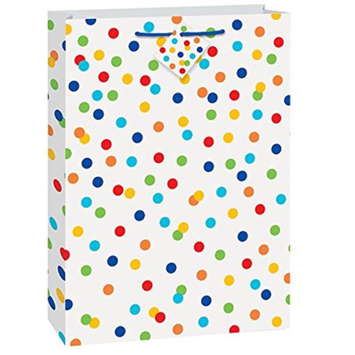 Obrázek z Dárková taška s puntíky 46 x 33 cm