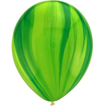 Obrázek Latexový balonek Multicolor zelený 30 cm