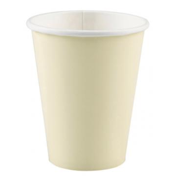 Obrázek Papírové kelímky vanilkové 8 ks