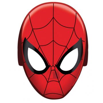 Obrázek Papírové masky Spiderman 8 ks