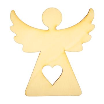 Obrázek Dekorace anděl bílý 17 cm