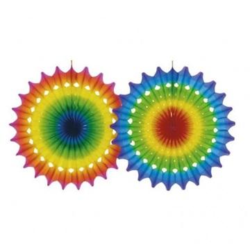 Obrázek Velká závesná barevné rozeta 50 cm