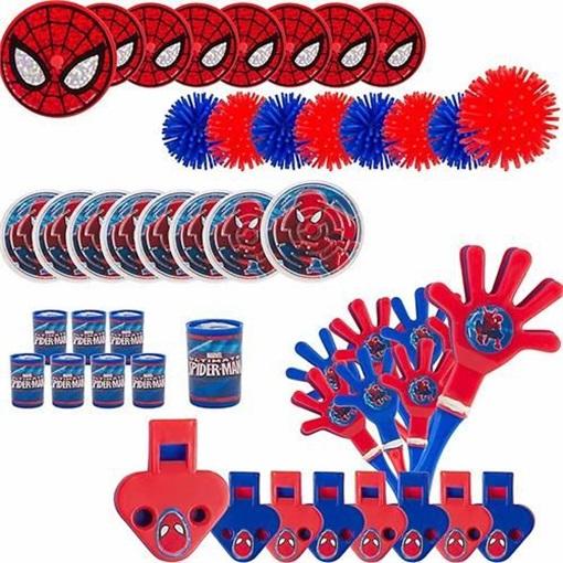 Obrázek z Party hračky Spiderman 48 ks