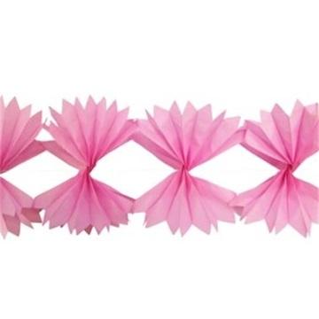 Obrázek Girlanda ve tvaru X růžová