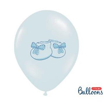 Obrázek Latexový balonek bačkůrky modrý