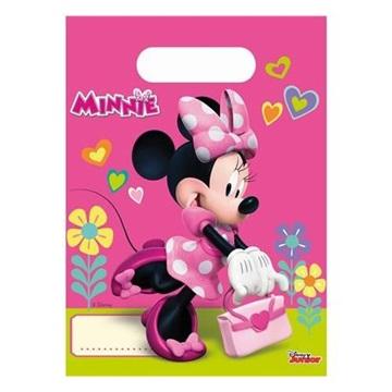 Obrázek Party tašky Minnie Happy Helpers 6 ks