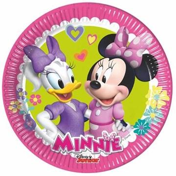 Obrázek Papírové talířky Minnie Happy Helpers 20 cm 8 ks