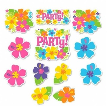 Obrázek Dekorace na havajskou party 12 ks