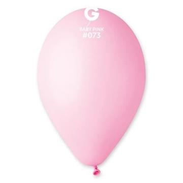 Obrázek Balonky 26 cm - Světle růžové baby pink 100 ks