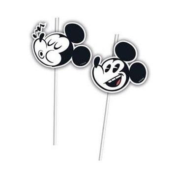 Obrázek Party brčka Mickey Super Cool 6 ks