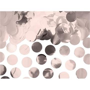 Obrázek Konfety rose gold kolečka - 15 g
