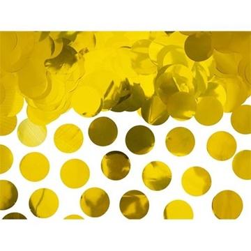 Obrázek Konfety zlatá kolečka - 15 g